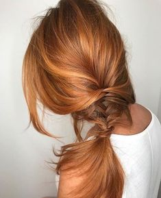 33 ideas hair color copper highlights strawberry blonde for 2019 Blonde Color, Color Red, Copper Blonde Hair Color, Light Auburn Hair Color, Ombre Colour, Gorgeous Hair, Pretty Red Hair, New Hair, Hair Inspiration