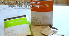 Thrive Experience Not Working