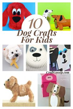This collection of 10 adorable puppy crafts are super fun and easy to do at home with your kids. This kid's craft roundup contains things such as origami, paper bag puppets, pipe cleaner dogs, cards, and even uses everyday items … Read More...
