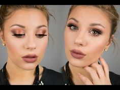 Night Out Makeup Tutorial | Morphe 35O - YouTube