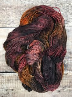 Gráinne: The Falling Leaves Of Autumn — Wild Atlantic Yarns Falling Leaves, Hand Dyed Yarn, Leicester, Yarn Colors, My Favorite Color, Blue Brown, Autumn Leaves, Knitting Wool, Yarns