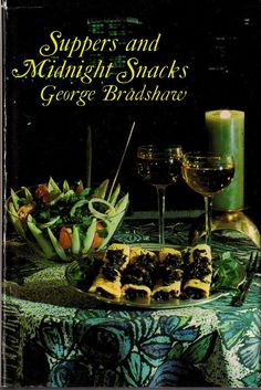 SUPPERS and MIDNIGHT SNACKS   Vintage Cookbook by by BunnysLuck.... I love vintage cook books! <3
