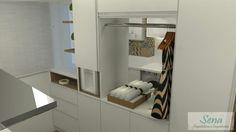 Proposta para Cozinha e Área de Serviço