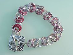 So many ways to Support the Fight ... Breast Cancer Awareness Chainmaille Gradient Pink by Dajamana, $49.00