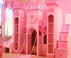 Best New Custom Princess Bella 2 Castle Bed Loft Bunk Dream 400 x 300