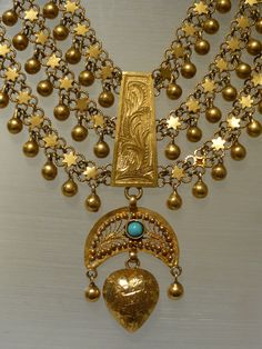 A Museum piece!!! Vintange Kurdish dowry necklace by hedya on Etsy https://www.etsy.com/listing/183339349/a-museum-piece-vintange-kurdish-dowry