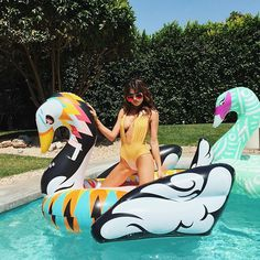 The ultimate Coachella Swan Floats by FUNBOY