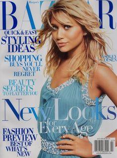 Ashley Olsen for Harper's Bazaar 2005 #style #fashion #olsentwins