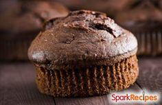 1 minute low carb chocolate muffin via @SparkPeople