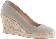 Crew for the Seville metallic espadrille wedges for Women. Find the best selection of Women Clothing available in-stores and online. Shoes Heels Wedges, Womens Shoes Wedges, Wedge Shoes, Shoes Sandals, Espadrille Sandals, Metallic Espadrilles, Metallic Sandals, Platform Wedge Sandals, Platform Shoes