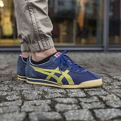 Onitsuka Tiger Corsair: Blue/Gold