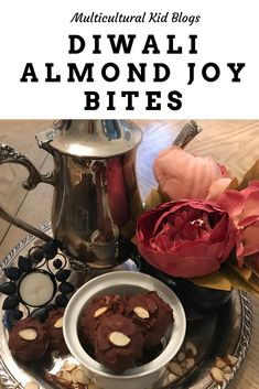 The Almond Joy Bites is a simple, delicious and kid-approved Diwali recipe that's perfect for enjoying or gifting for Diwali. Almond Joy Bites Recipe, Yummy Treats, Sweet Treats, Diwali Food, Cooking Dishes, Indian Sweets, Cooking With Kids, Dessert Recipes, Desserts