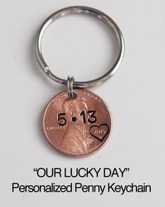 Gifts for men Boyfriend gift, Girlfriend gift, Gift for wife, Baby shower gift, Lucky penny.Penny keychain - Romantische geschenke - Check more at. Ldr Gifts For Him, Bf Gifts, Diy Gifts For Boyfriend, Gifts For Wife, Boyfriend Girlfriend, Husband Gifts, Homemade Gifts For Men, Christmas Gifts For Girlfriend, Homemade Gifts For Girlfriend