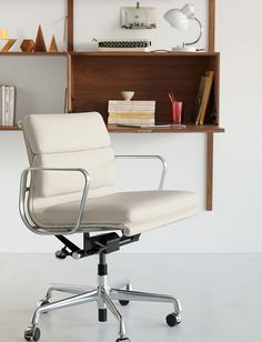 Eames® Soft Pad Management Chair with Pneumatic Lift - Design Within Reach