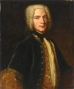 A Gentleman of the Needham Family of Melton Mowbray by British (English) School    Date painted: c.1740–1750  Collection: Royal Albert Memorial Museum, Exeter