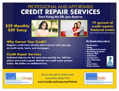 Credit Repair Flyer Google Search