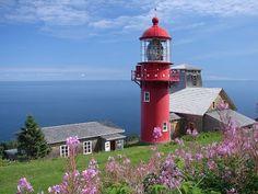 Phare de Pointe-à-la-Renommée, Gaspésie.