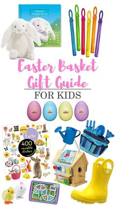 Easter Basket Gift Guide for Kids - Click to get all the links to the goodies!