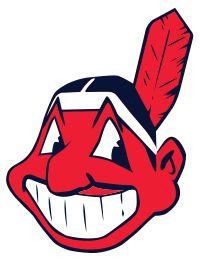 Cleveland Indians logo - Chief Wahoo - Wikipedia, the free encyclopedia Cleveland Indians Baseball, Cleveland Rocks, Cleveland Ohio, Cleveland Tattoo, Mlb Teams, Baseball Teams, Sports Teams, Baseball League, Sports Logos