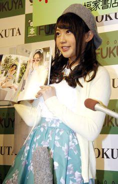 初の写真集「ぴーす」(徳間書店)の発売記念イベントを開催した「AKB48」の木崎ゆりあさん  ▼11Feb2015まんたんウェブ AKB48木崎ゆりあ : 初写真集は「150点」 水着披露も父は「大人になった」と喜び http://mantan-web.jp/2015/02/11/20150211dog00m200002000c.html #木﨑ゆりあ #木崎ゆりあ #Yuria_Kizaki #AKB48