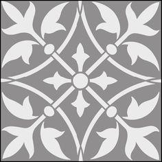 persian tile stencils - Google Search