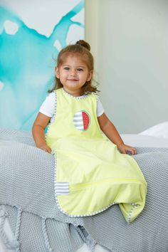 Trans-Seasonal Blue, 4-12 Months Extra Long Zipper For Quick And Easy Access Super Soft And Stretchy Wearable Bag Temperature Regulating Fabric Provide Your Child With A Restful Sleep Love To Dream Inventa Cotton Sleep Bag