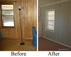 Painting Over Wood Paneling Ideas Paint