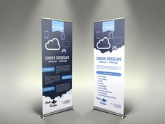 Custom Retractable Banner Stands - Make you stand out at the trade show or event, offer the banner stand display solutions to get the attention. Rollup Design, Rollup Banner Design, Bunting Design, Standee Design, Banner Design Inspiration, Design Ideas, Pop Up Banner, Retractable Banner, Training