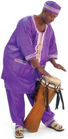 Sabar Drum - Drums & Drum Accessories - African Music   Africa Imports