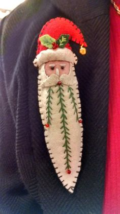 Felt folk Santa 2019 Felt folk Santa The post Felt folk Santa 2019 appeared first on Wool Diy. Felt Christmas Decorations, Christmas Ornaments To Make, Christmas Sewing, Felt Ornaments, Diy Christmas Gifts, Christmas Art, Christmas Projects, Handmade Christmas, Christmas Journal