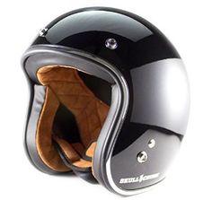 Skull Crush Open Face 3/4 Helmet