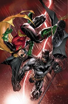 Batman And Robin Annual #3 Cover by Ardian Syaf & Guillermo Ortego
