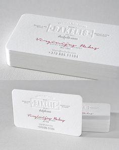 Vintage Styling Meets Modern Minimalism On An Award Winning White Business Card