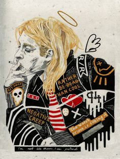 For everything Nirvana check out Iomoio Nirvana Art, Nirvana Kurt Cobain, Kurt Cobain Art, Nirvana Lyrics, Punk Art, Rock N Roll, Rock Indie, Rock Y Metal, David Carson