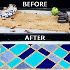 One Easy Way To Upgrade Your Doormat Game