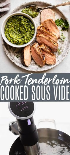Learn how to Sous Vide Pork Tenderloin with juicy