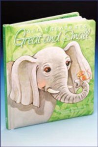 All Creatures Great and Small - Padded Board Book by Malhame. $8.95. This padded board book features whimsical animals with easy to read text. Ideal for early readers. Author: Maggie Swanson Format: Padded Cover Board Book, 6.25 x 7.25 Manufacturer: Malhame Mfg : 13003 ISBN: 9780882710303