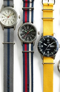 Need that yellow watch band.