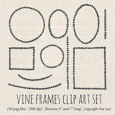 laurel wreath clip art folk digital frames hand drawn by huetoo Laurel Leaves, Laurel Wreath, Frame Clipart, Invites, Hand Drawn, How To Draw Hands, Folk, Doodles, Clip Art