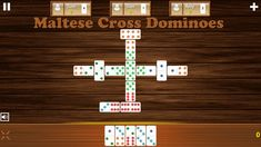 Play Maltese Cross Dominoes Game Online - Your favourite dominoes game online Maltese Cross, Games Box, Play, Online Games