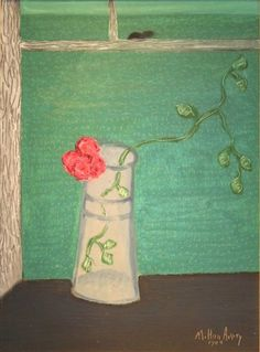 Flower Vase - Milton Avery