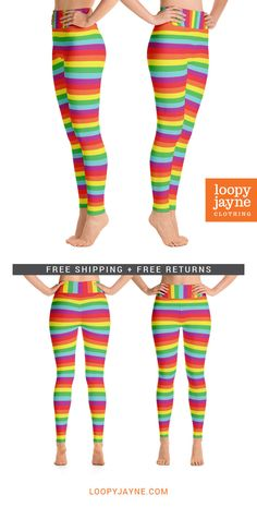 34da929a57469 Rainbow Extra Thick Baby Leggings | Squeak's Winter Wardrobe | Baby ...