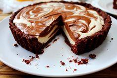 Lemon Chocolate Swirl Tart (20)