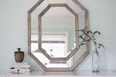 DIY octogonal mirror