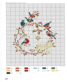 Cross Stitch Love, Cross Stitch Animals, Cross Stitch Flowers, Modern Cross Stitch, Cross Stitch Charts, Cross Stitch Designs, Cross Stitch Patterns, Loom Patterns, Crewel Embroidery
