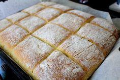 Bröd i långpanna – Sååå gott!!! – Niiinis Kitchenlife Bread Recipes, Cake Recipes, Rose Drink, Food Cakes, Muffins, Sandwiches, Good Food, Food And Drink, Cookies