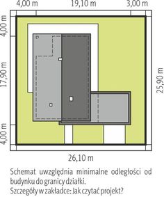 DOM.PL™ - Projekt domu AC Daniel G2 CE - DOM AF8-27 - gotowy koszt budowy Modern Architecture House, Modern House Design, Farm Plans, Facade House, Bungalow, Projects To Try, Sweet Home, How To Plan, House Styles