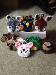 Ravelry: Woodland Animal Softies pattern by Rilla Edwards