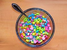 this is exactly what I do with my lucky charms.