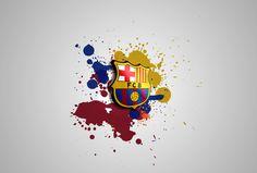 Download FC Barcelona Logo Wallpaper HD - http://wallucky.com/download-fc-barcelona-logo-wallpaper-hd/